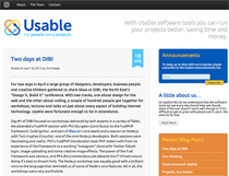 Usable Blog